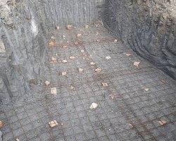 Posa in opera 3 cisterne - Impresa Edile Gabellieri