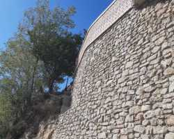 Rifacimento muro Impresa Edile Gabellieri